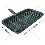 Hotpoint 40051 Grill Pan Complete Creda 243mm X 416mm