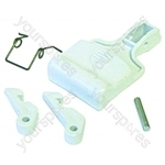 Hotpoint W1237BQ Door Handle Kit White
