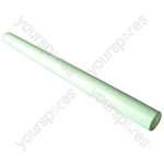 Plastic Rod White 19 Inch