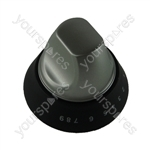 Hotpoint CH10450GF Knob Assembly Silver Grill Electric