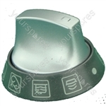 Hotpoint EW84G(T) Knob Main Oven Selector Graphite/aluminium