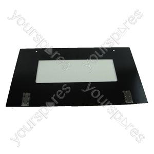 Indesit Main Oven Outer Door Glass & Brackets