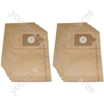 NVM-1CH Vacuum Cleaner Paper Dust Bags (Pack Of 20)