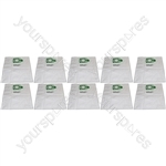 Numatic Henry-Hetty-James Microfibre Hepaflow Vacuum Cleaner Dust Bags x 10