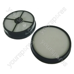 Vax Type 27 Pre and Post Motor HEPA Filter Kit for VAX Mach Air Pet Vacuum Cleaners