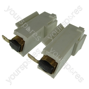 Washing Machine Motor Carbon Brush And Holders Pack Of 2