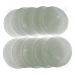 10 X Post Motor Filter Pads for Dyson DC07 DC07i DC14 DC14i DC14+
