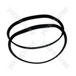 Flymo MICRO COMPACT 300 2 x Lawnmower Poly V Drive Belt FLY056/FL267