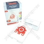 Miele Vacuum Cleaner FJM HyClean 3D Efficiency Dust Bag & Filter Pack - Pack of 4 Bags