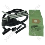 Numatic NRV380 Vacuum Cleaner 1.8m Hose and Tool Kit with 20 x Paper Dust Bags