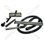 VAX Vacuum Cleaner Hose, Extension pipe and Tool Kit 4 Lug Hose Fitting