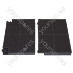 Electrolux EFG70023S Faber EFF70 Carbon Charcoal Cooker Hood Filter