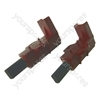 Washing Machine Carbon Brush for Indesco Motors - Pack of 2 Equivalent to C00196539