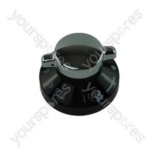 Stoves Black & Silver Oven Control Knob