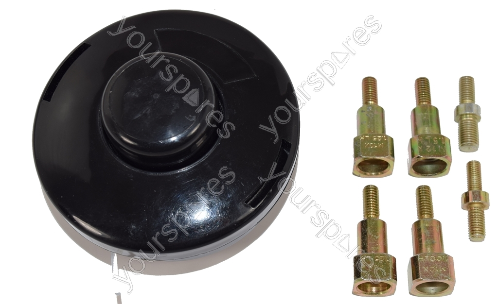 2 Line Bump Feed Head & Adaptors For Brushcutter & Strimmer by Ufixt