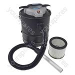 15 Litre Ash Debris Bagless Vacuum Cleaner With Hepa Filter 800 Watt Motor