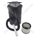 20 Litre Ash Debris Bagless Vacuum Cleaner With Hepa Filter 1200 Watt Motor