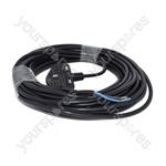 Numatic CHARLES Henry Vacuum Cleaner Replacement Power Cable and Plug