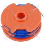 Spool & Line For Qualcast Strimmers 1.5 mm x 2 mm x 5 metre