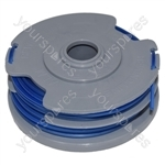 Flymo Multi Trim 250 Plus Twin (9648550-25) Trimmer Strimmer Spool & Line Double Autofeed Compatible With FLY021
