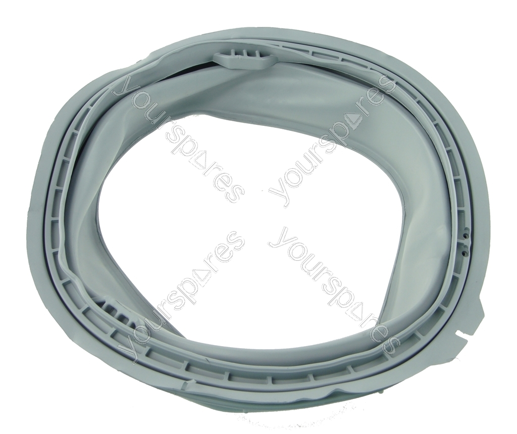 Hotpoint  sc 1 st  Yourspares & Hotpoint WMA64 Grey Rubber Washing Machine Door Seal C00201247 by ...