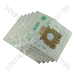 Hoover Super Filtration Microfibre Vacuum Cleaner Dust Bags (H30S) - Pack of 5