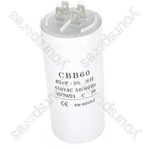 Universal 40UF Microfarad Appliance Motor Start Run Capacitor