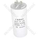 Beko 40UF Microfarad Appliance Motor Start Run Capacitor