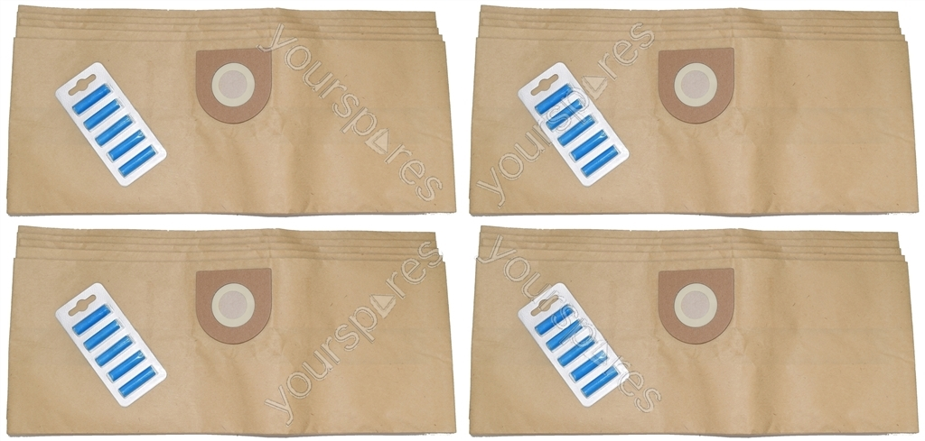20 x Vax Canister Vacuum Cleaner Paper Dust Bags