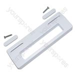 Universal White Fridge Door Handle 80mm to 150mm