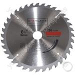 Circular Saw Blades 160mm x 20mm TCT 36 Tungsten Carbide Teeth