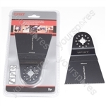 Multi Tool Blade 65mm Wide High Carbon Steel HCS For Wood And Plastic