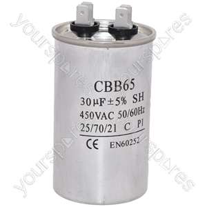 Kenwood 30UF/MFD AC Motor Start Capacitor 450v