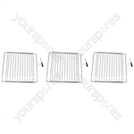 Hygena 3 x Extendable Oven Cooker Grill Shelf Grid Rack