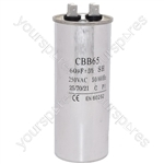 Ariston 60UF/MFD AC Motor Start Capacitor 450v