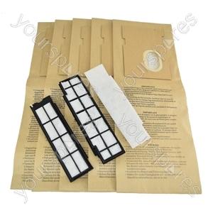 AEG Vampyr VC9400 Upright Vacuum Cleaner Paper Dust Bags + Filters