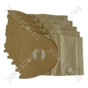 Nilfisk Ergoclean Vacuum Cleaner Paper Dust Bags