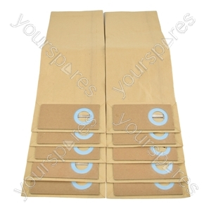 Trewax UP550 Vacuum Cleaner Paper Dust Bags