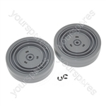 Dyson DC04 Vacuum Cleaner Replacement Wheel Set