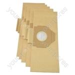 Moulinex Powerclean Vacuum Cleaner Paper Bags