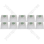 Numatic NVQ250B 5 Layer Microfibre Vacuum Cleaner Dust Bags (10 Pack)