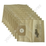 Numatic NV375 George Vacuum Cleaner Paper Dust Bags x 10