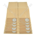 Trewax UP550 Vacuum Cleaner Paper Dust Bags
