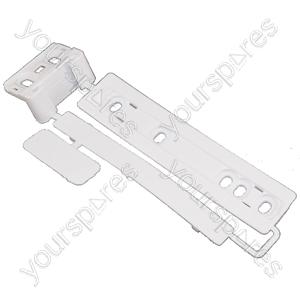 Universal Integrated Sliding Door Hinge Mounting Kit