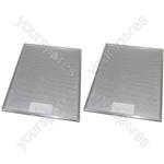 Tricity Bendix 2 x Cooker Hood Metal Grease Filter 290mm x 380mm