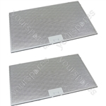 Tricity Bendix 2 x Cooker Hood Metal Grease Filter 506mm x 300mm