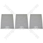 Bosch 3 x Cooker Hood Metal Grease Filter 311mm x 250mm