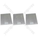Tricity Bendix 3 x Cooker Hood Metal Grease Filter 287mm x 313mm