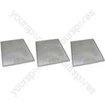 Meneghetti 3 x Cooker Hood Metal Grease Filter 250mm x 311mm