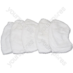 Karcher Compatible Steam Cleaner Hand Tool Terry Cloth Covers x 5